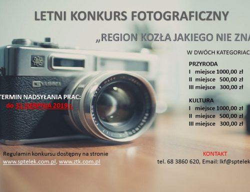 """Letni konkurs fotograficzny """"Region Kozła jakiego nie znacie"""""""
